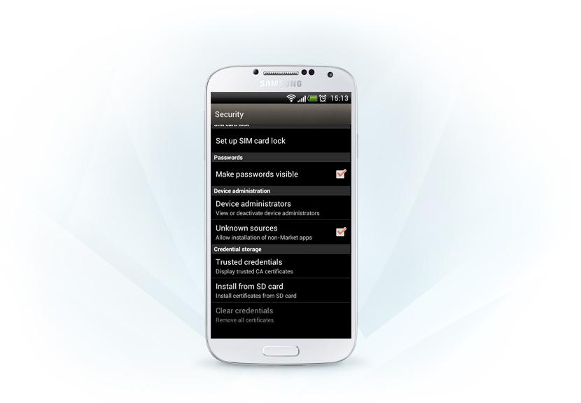 s6 allow non market applications installation