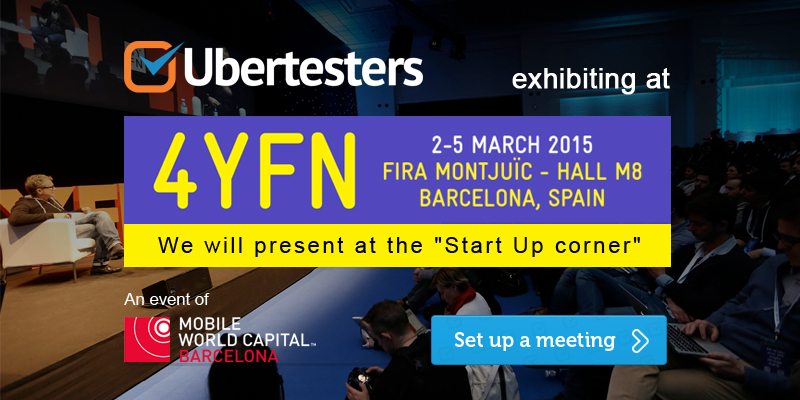 Meet Ubertesters at 4YFN!
