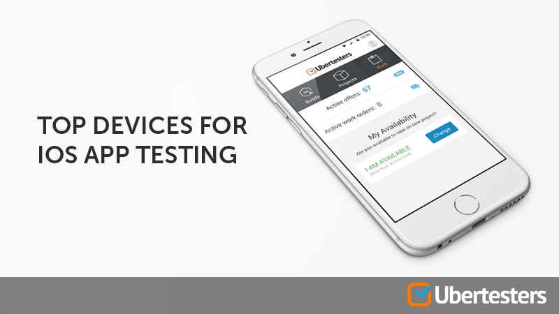 Top devices for iOS app testing